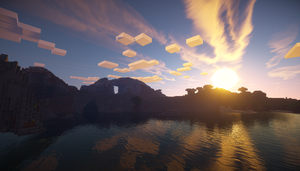 Minecraft GLSL Shaders Mod Test by SleekHusky