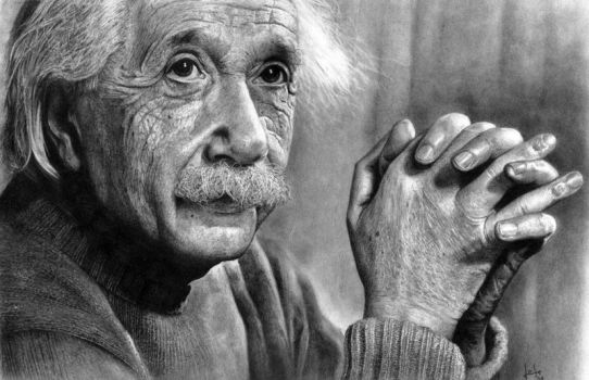Einstein by joseluisrugilo