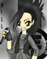 Bill Kaulitz from tokio hotel by peeyellowpants