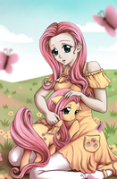 Fluttershy by SomedaySakuhin