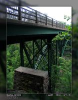 Bridge Over Quechee Gorge by PhotographyByIsh