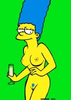 Marge Nude by DarkArk07