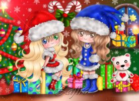 .:Merry Christmas 2012:. by Zafiro-Chan