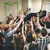 Crowd surf the most talented girl on earth!  by BroadwayBound23