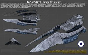 Sabaoth destroyer ortho [New] by unusualsuspex