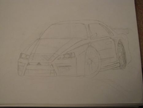 My Lancer concept no colors by Skyline-Fan