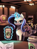 - Ponybucks Cafe - by luminaura