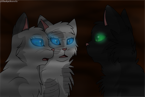 .::Meeting.Hollyleaf::. by xXThatEpicDrawerXx