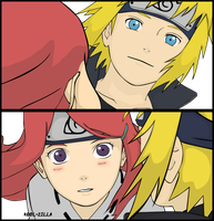 Kushina and Minato by Kool-Zilla