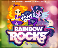 Equestria Girls: Rainbow Rocks {{Album Cover #1}} by JaymeBear