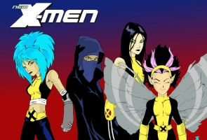 New X Men...I mean Girls. by Vegeta1978