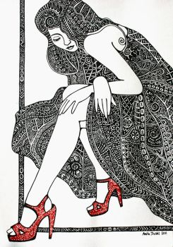Red Shoes by anitadunkl
