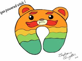 Impossibear neck pillow sketch  by LittleCritters00
