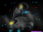 Desu  Wolf of the havens :The Fallen Darkness: by MVFox