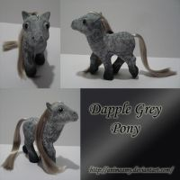 Dapple Grey My Little Pony by AnimeAmy