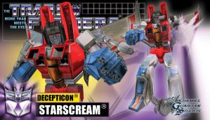 Starscream the 'Not so' Slick by GeneralSoundwave