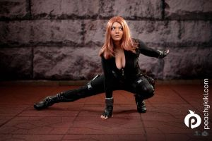 Black Widow - Winter Soldier by Peachykiki