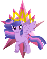 Super Powered Princess Twilight Sparkle by TheShadowStone