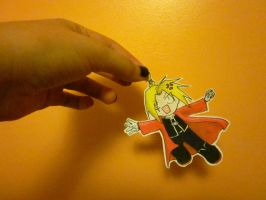 Edward Elric---Paper Child by Hitokiri-Shinzui