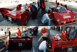 Alfa Tipo 33/3 1975 at Monza Historic by PzlWksMedia