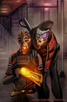 mass effect fanfiction cover 4 by calisto-lynn
