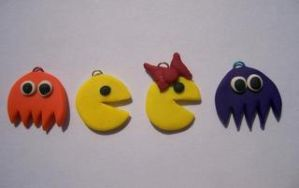 Pac Man Charms by Kimmyo801