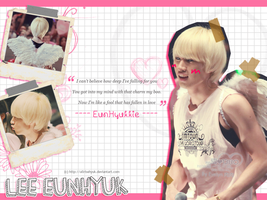 Eunhyuk Angel - Wallpaper by AllRiseHyuk
