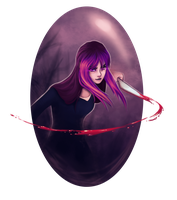 She comes from the dark - Mangaminx by dotLinks