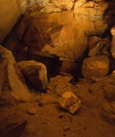 Cave Wall with Dirt Floor by CarolineRutland