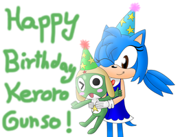 Happy Birthday Keroro Gunso by AliHedgie