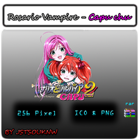 Rosario Vampire Capu-chu by jstsouknw by jstsouknw