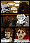 The Dog Catchers Comic : House of Pain! 18 by TheShockermaniac