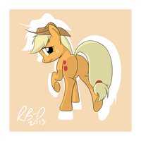 Applejack by RB-D