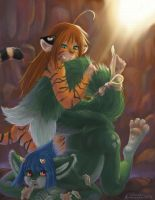 .:Tigress' Revenge:. by konekonoarashi