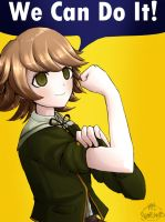 Dangan Ronpa - Chihiro Fujisaki - We Can Do It! by MelSpontaneus