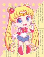 Sailor Moon by strawberryquiche