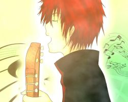 Sasori: Song for you by no-name-just-art