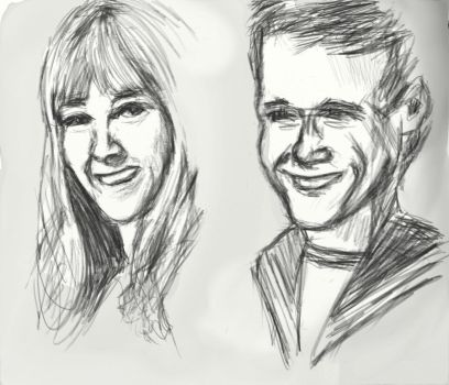 Doodle- Polly Wright and Ben Jackson by Circular-Time