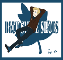 Illustration - BlueSuedeShoes by surrenderdammit