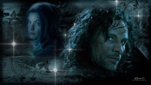 Aragorn and Arwen WP - for LadyAnnatar by Elflover21