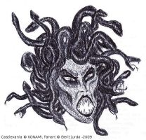 Medusa Head by WAH-HOO
