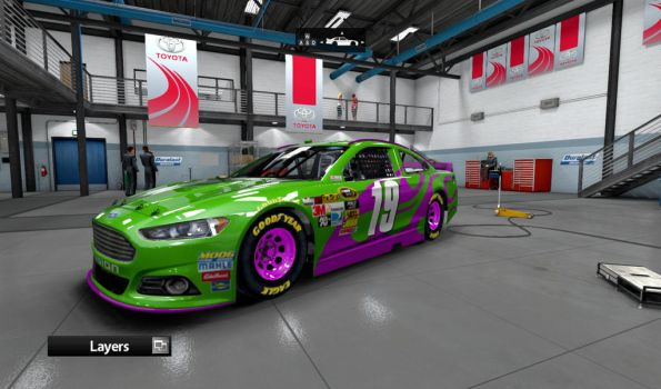 #19 Electric Spark Ford Fusion by AdmiralofKingsford