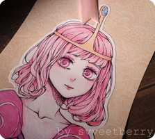 Princess Bubblegum - card by Svveet