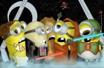 Minions by the stars by benjonesart - colors by Pendecon