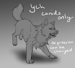 YCH - Running canid - PAYPAL ONLY by YouAreNowIncognito
