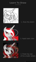 How to Draw by ValorNomad