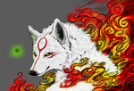Amaterasu.:.WildFire by WhiteSpiritWolf