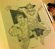 BCC 2010 Invincible Nightwing by RyanOttley
