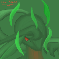Cool contest - Lock used Leaf Blade by kitzune-griffith