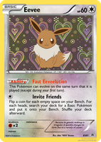Eevee Fake Card (BW/XY) by Karite-Kita-Neko